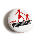 Join Veganism - Button