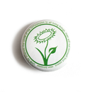 Vegan Flower - Schweitzer - Button
