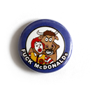 Fuck McDonalds Button