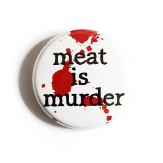 Meat is Murder - Button