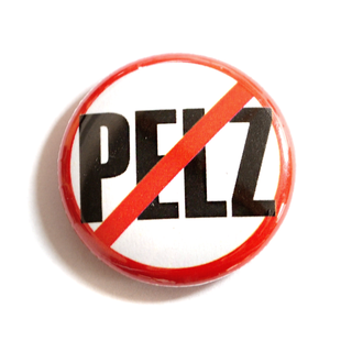 Kein Pelz! - Button