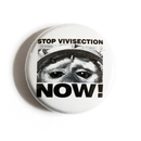 Stop Vivisection Now! - Button