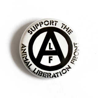 Support the ALF (A) - Button