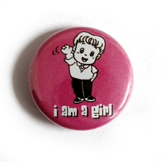 I am a Girl - Button