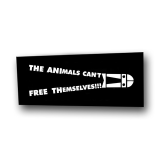 The Animals Cant Free Themselves - Aufnäher