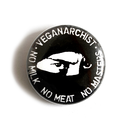 Veganarchist - Button