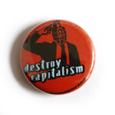 Destroy Capitalism - Button