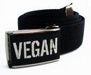 VEGAN Belt for kids-65cm-black