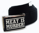 Meat Is Murder Gürtel