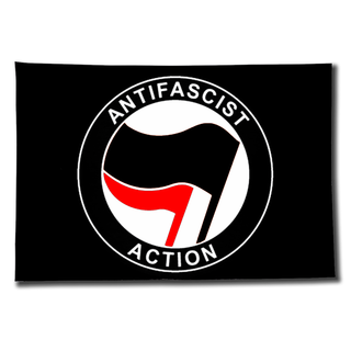 Fahne Antifascist Action