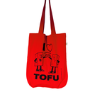 SALE! I heart tofu - bag - red