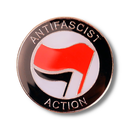 Antifaschistische Aktion - Anstecker