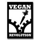 Vegan Revolution - Sticker (10x)