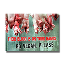 Their blood is on your hands - Sticker (10x)