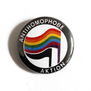 Antihomophobe Aktion - Button
