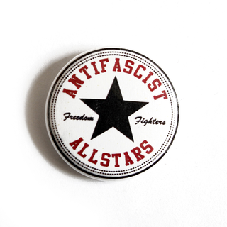 Antifascist Allstars - Button