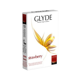 Glyde Ultra Condoms Strawberry (10 pcs.)