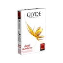 Glyde Ultra Condoms slimfit Strawberry (10 pcs.)