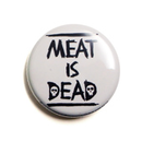 Meat is dead - Button