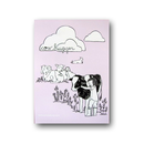 Cow Hugger (rose) - Sticker
