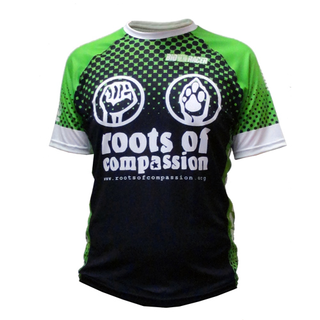 roots of compassion - running jersey