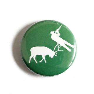 Make Hunting History - Button