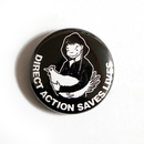 Direct Action Saves Lives - Button