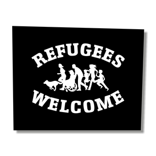 Refugees Welcome - Soli-Aufnäher