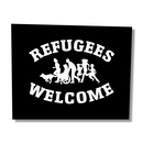 Refugees Welcome - Benefit Patch