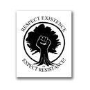 Respect Existence - Patch on durable Bio Canvas
