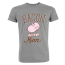 Bacon had a mom T-shirt - large/loose cut