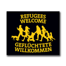 Refugees Welcome - Benefit Sticker
