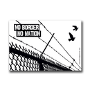 No border (birds, white) - Sticker