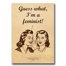 Guess what, Im a feminist! - Sticker - Sticker (10x)