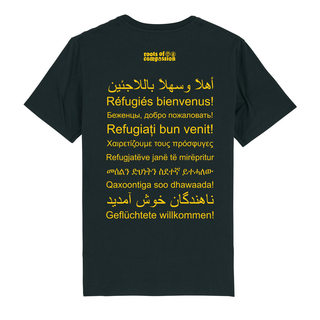 SALE! Refugees Welcome - Soli T-Shirt - groß/gerade (Auslaufmodell)