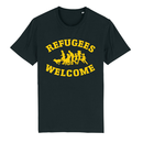 SALE! Refugees Welcome - Benefit T-shirt - large/loose...