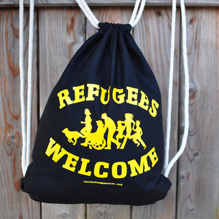 Refugees Welcome - Soli-Turnbeutel
