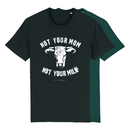 Not your mom - T-shirt - black - large/loose cut
