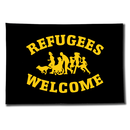 Fahne Refugees Welcome - Soliartikel