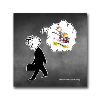 Work vs. Life - Sticker (10x)