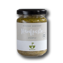 Hemp pesto with porcini mushrooms