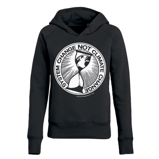 System Change Not Climate Change - Benefit Hoodie - small/waisted cut