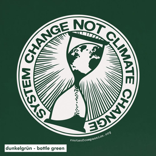 System Change Not Climate Change - Soli T-Shirt - large/loose cut