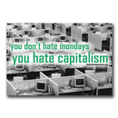 You dont hate Mondays ... - Sticker - Sticker (10x)