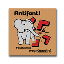 Antifant! - Sticker (10 x)