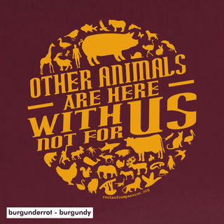 Other animals are here with us  - T-Shirt - groß/gerader Schnitt