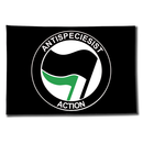Flag Antispeciesist Action - black
