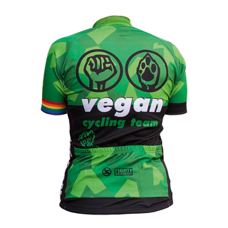 roots of compassion vegan cycling team - Radtrikot- taillierter Schnitt