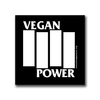 Vegan Power - Magnet