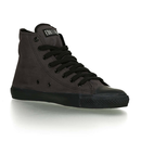 Fair Trainer Black Cap Hi Cut - pewter grey/black